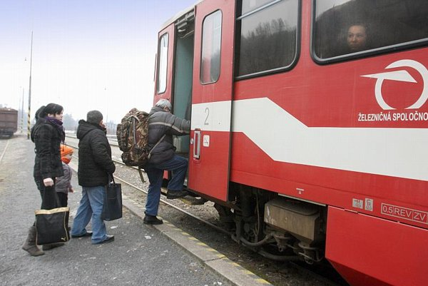 Passenger rail services were cut in Slovakia on May 1.
