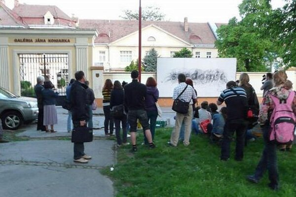 Multiplace was staged outside the GJK in protest.