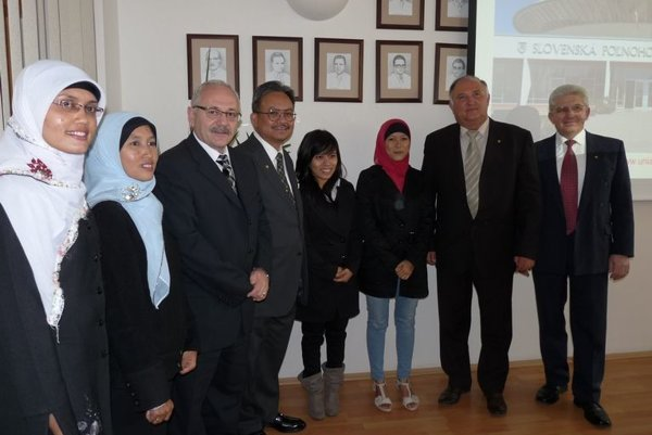 The Indonesian students in Slovakia
