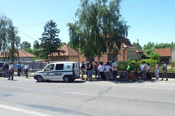 A shooting in Hurbanovo resulted in three dead and two wounded.