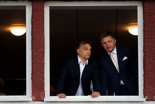 Viktor Orbán and Robert Fico enjoy good relations.