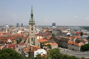 The highest number of BSCs are located in Bratislava.