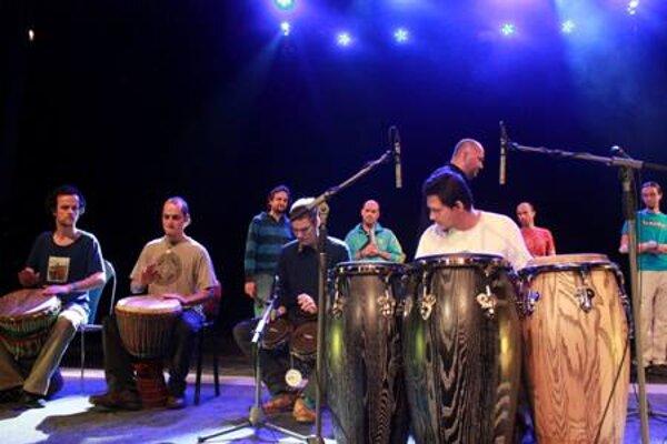 "Martin Verdonk's ""drum circle"""