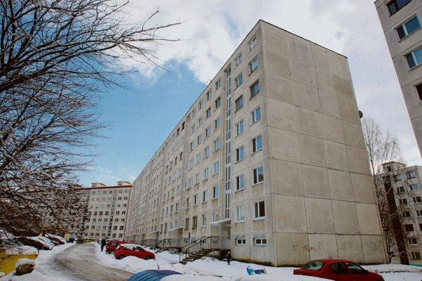Typical communist-era flats in Slovakia.