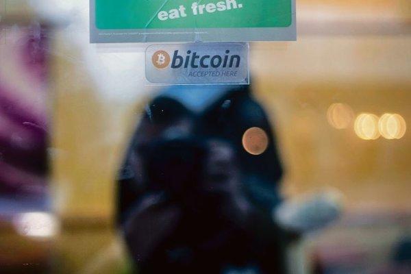 Bitcoin arrives.