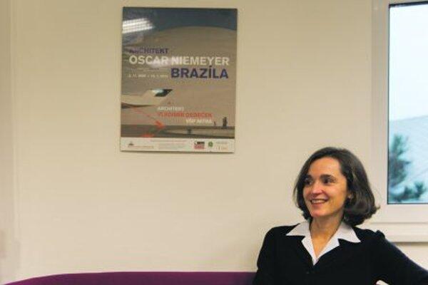 Brazilian Ambassador Susan Kleebank