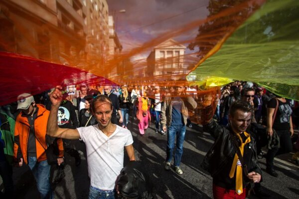 Bratislava will host its fifth Pride parade this year.