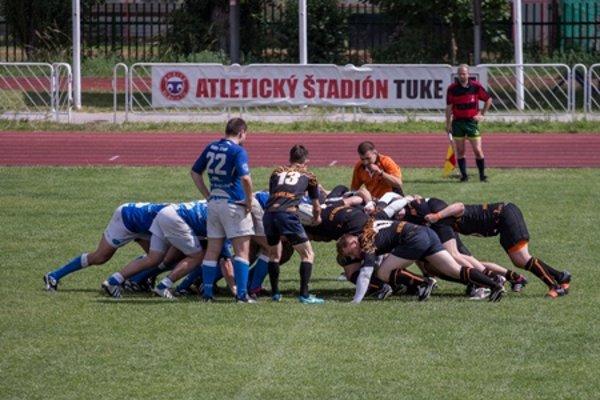 Rugby match in Košice
