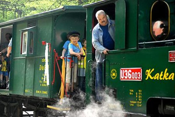 Children's Railway in Čermeľ - Košice