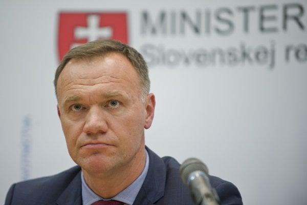 Health Minister Viliam Čislák