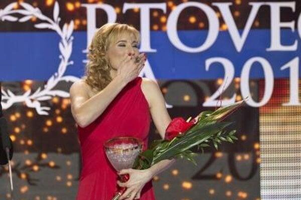 Anastasia Kuzmina won the Athlete of the Year 2014 award.