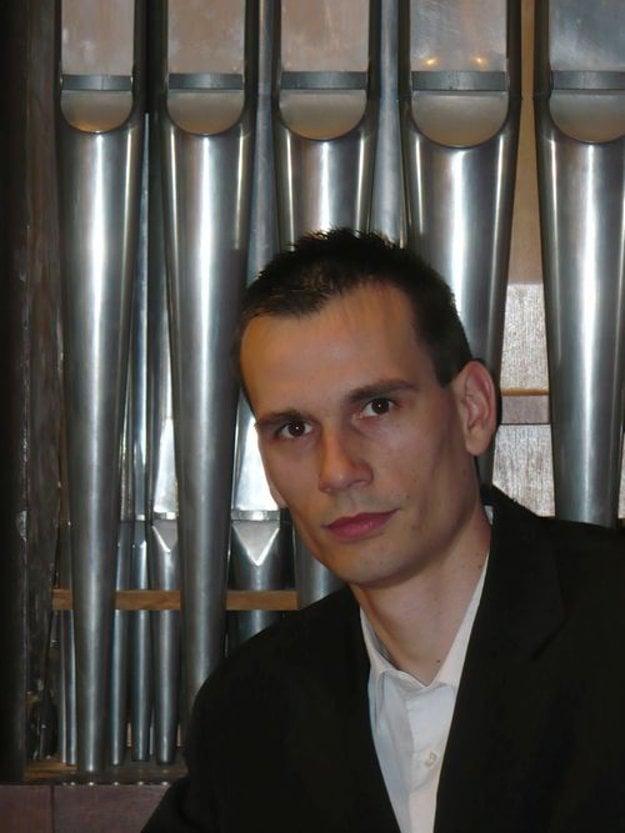 Slovak organist Martin Bako