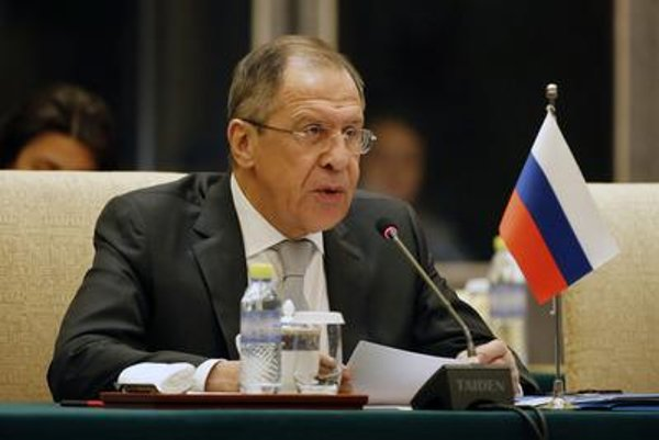 Russian Foreign Affairs Minister Sergei Lavrov