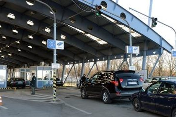 Border crossing in Vyšné Nemecké