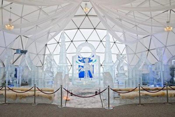 Tatra Ice Cathedral at Hrebienok