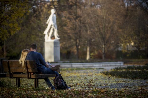 Park of Janko Kráľ, illustrative stock photo.