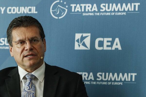 EC Vice President Maroš Šefčovič