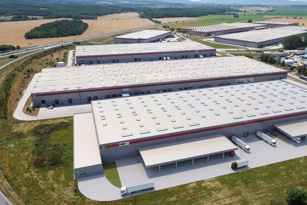 The new warehouse for PTG Slovakia s.r.o.