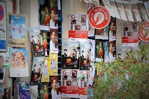Posters in Avignon