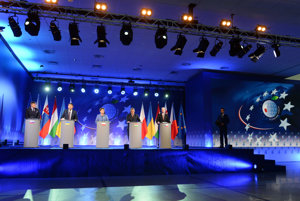 Meeting of V4 and Ukraine prime ministers in Krynica.