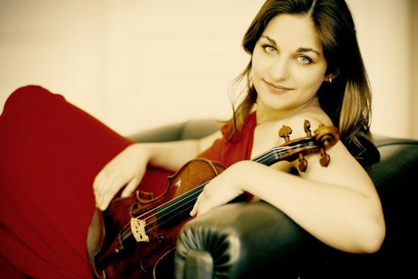 Violinist Alexandra Soumm will teach, perform in Bratislava