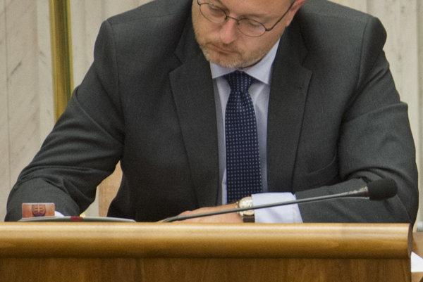 MP Milan Krajniak (Sme rodina)