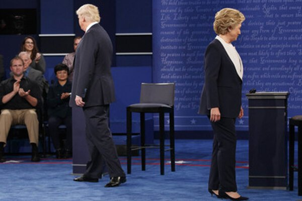 US presidential candidates: Donald Trump and Hillary Clinton.