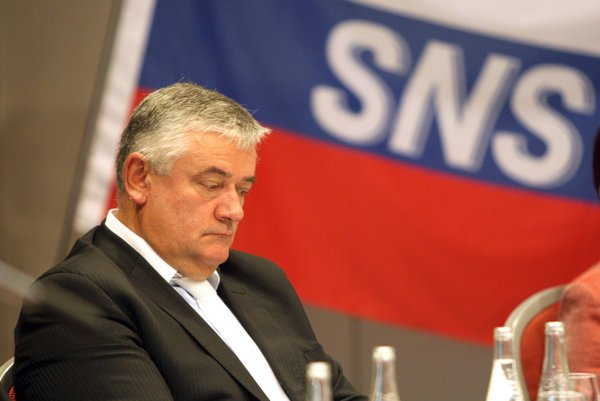 Former chair of the Slovak National Party (SNS) Ján Slota.