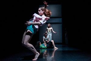 Silver Liquid, Silver Thread in Štúdio Tanca Theatre, illustrative stock photo