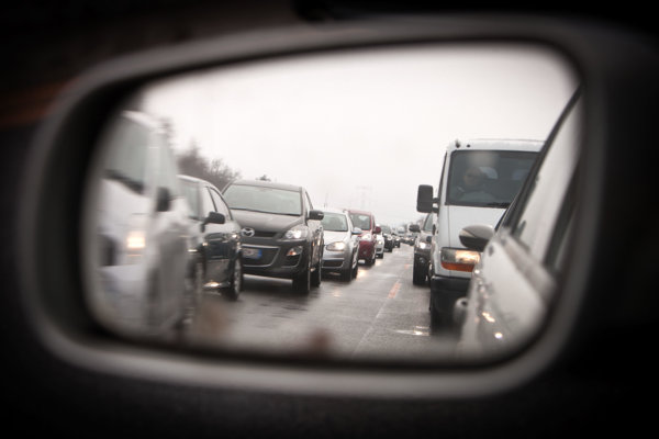 Traffic jams are an everyday reality for drivers.