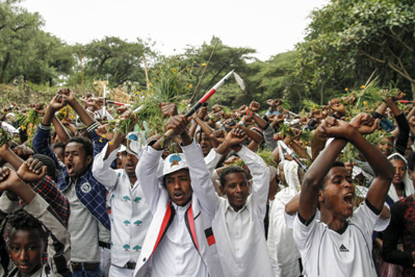 Mass protests in Ethiopia caused the state of emergency and worsened security situation, illustrative stock photo.