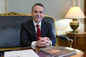French Ambassador to Slovakia Christophe Leonzi