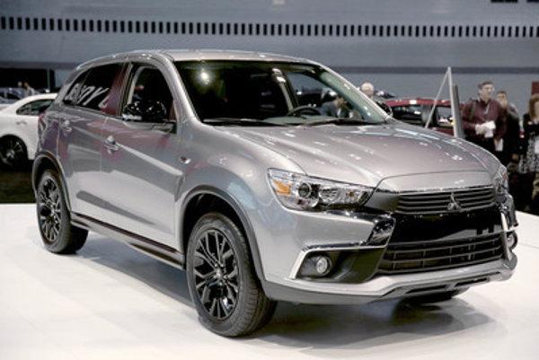 Mitsubishi at Chicago Auto Show, illustrative stock photo