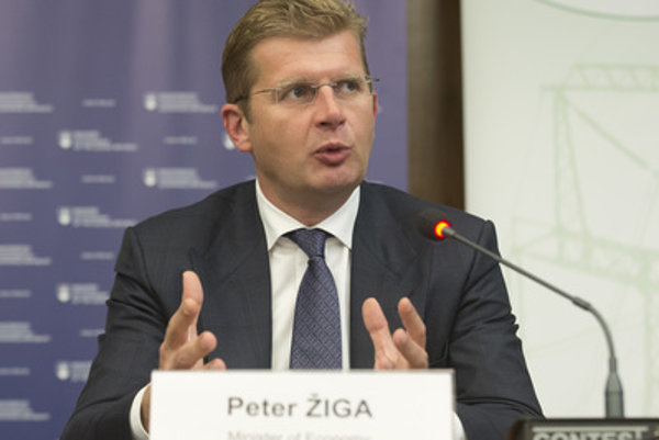 Slovak Economy MInister Peter Žiga