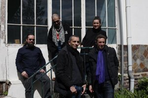 The Iraqi-French band Aiwa
