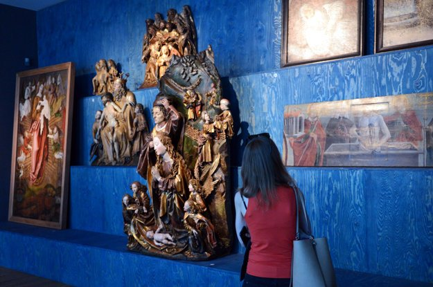 A night in the Slovak National Gallery