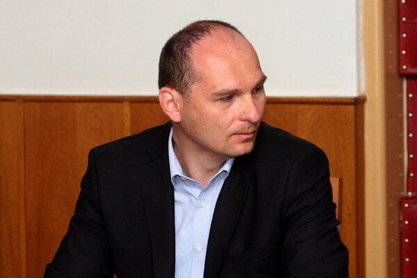 Mayor of Gemerská Poloma Miroslav Michalka.