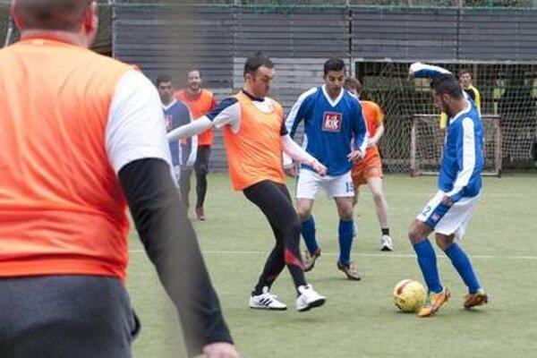 Football match on International Roma Day, with US Embassy to Slovakia