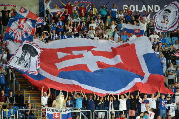 European Under-21 Champrionship, Poland - Slovak fans