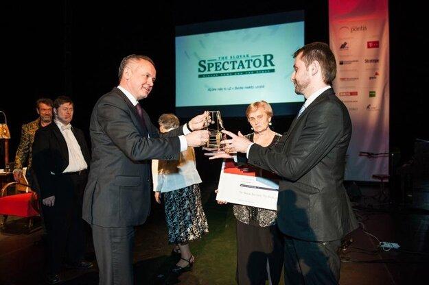 The Slovak Spectator received one of the main Via Bona awards in 2014.