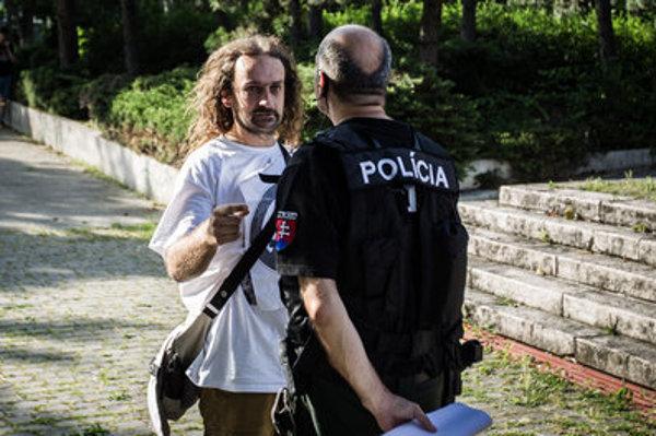 Activist and artist Ľuboš Lorenz
