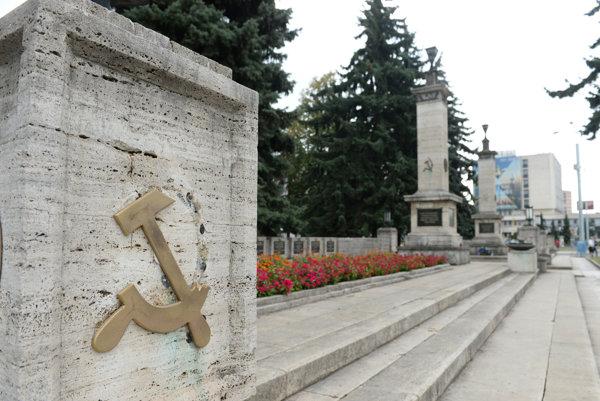 The memorial in Košice