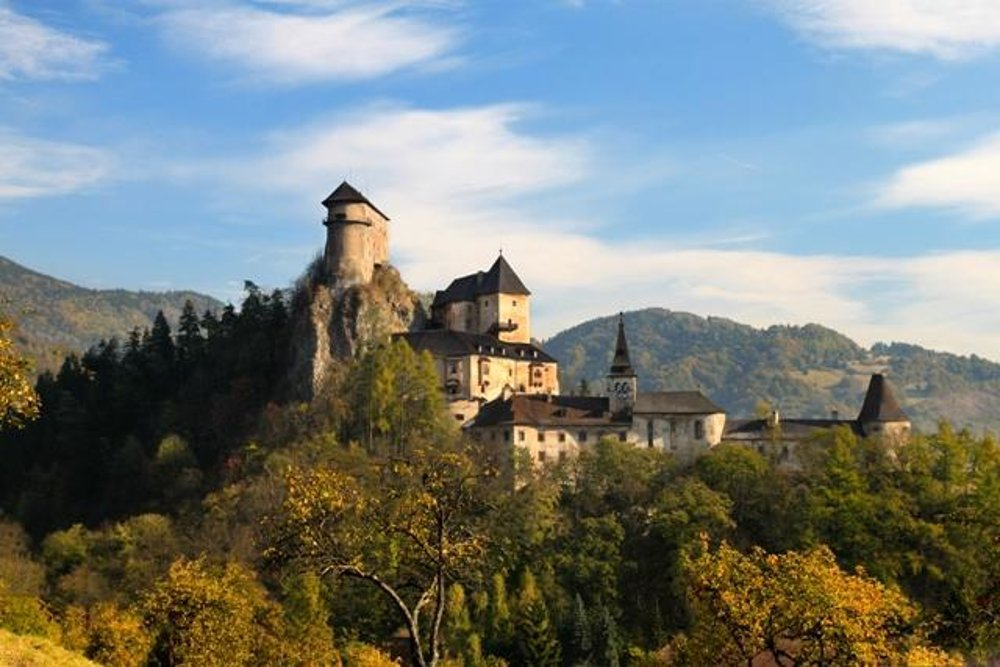 Orava Castle is one of the most impressive castles in Slovakia.