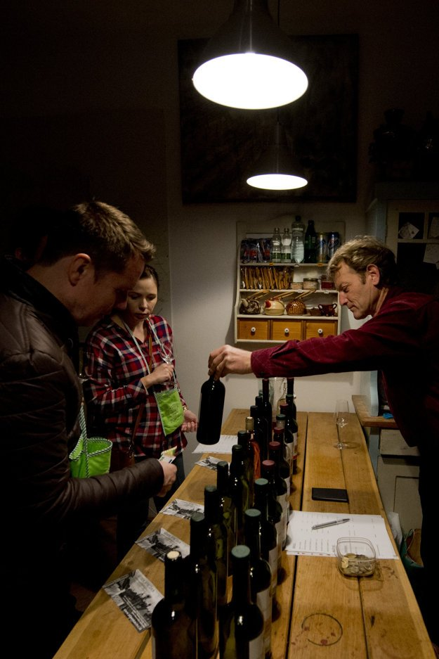 Day of Open Cellars at Small Carpathina Wine Route 2014
