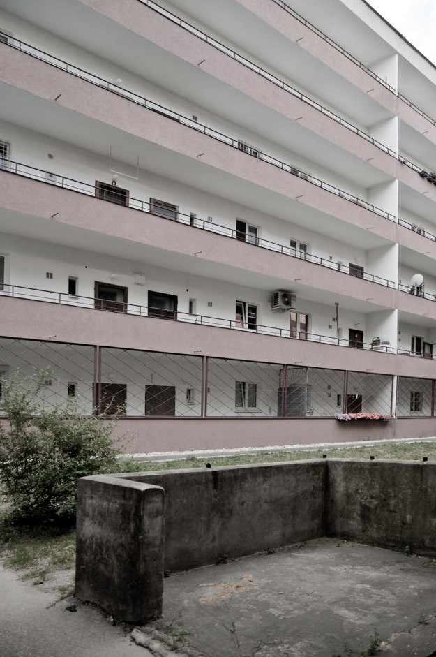 Friedrich Weinwurm  –  Ignác Vécsei: Housing complex Unitas, Bratislava, Šancová 21 – 63; 1930 – 1931.