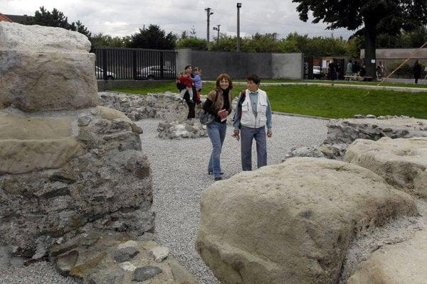Ancient Roman monuments in Gerultata, Rusovce (Bratislava)