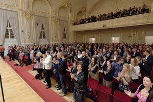Audience in Reduta