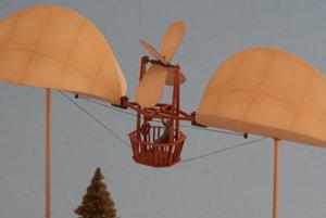 Controlled balloon by Ján Bahýľ, model by Martin Mikuláš