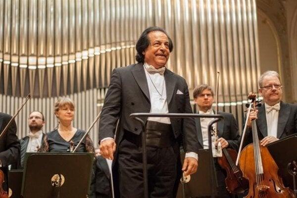 Alexander rahbari with Slovak Philharmonic