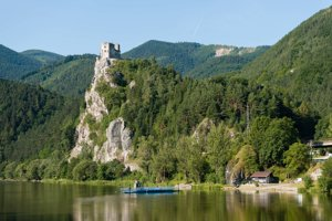 The Strečno castle